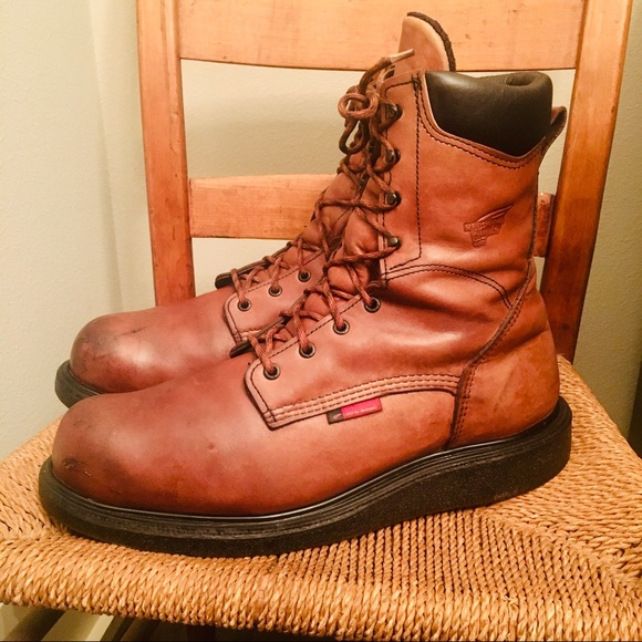 Red Wing Boots Men Size 4ee Model 678